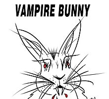 Vampire Bunny by Vincent J. Newman
