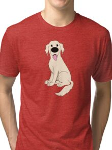 Golden Retriever Tri-blend T-Shirt