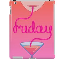 friday lettering iPad Case/Skin