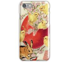 Easter with a French Twist iPhone Case/Skin