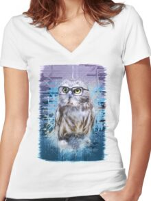 The Scientist Women's Fitted V-Neck T-Shirt