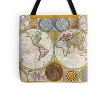 Antique Wall Map - 1794 Tote Bag