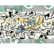 Graffiti Watch Photographic Print