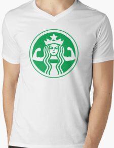 Sbucks Strong Mens V-Neck T-Shirt