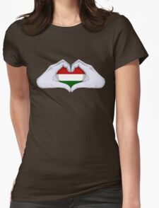 Hungary Womens Fitted T-Shirt