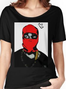 Red Ye (Masked) Women's Relaxed Fit T-Shirt