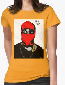 Red Ye (Masked) Womens Fitted T-Shirt