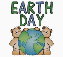 Earth Day Bears Kids Tee