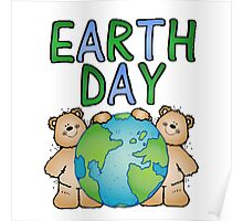 Earth Day Bears Poster