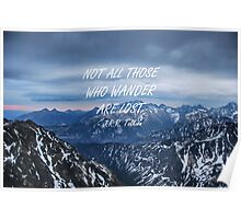 Not all those who wander 11 Poster