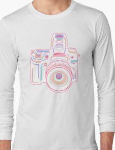Cute Pastel Camera Long Sleeve T-Shirt