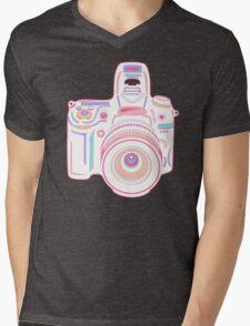 Cute Pastel Camera Mens V-Neck T-Shirt