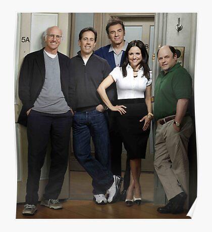 Seinfeld Larry David  Poster
