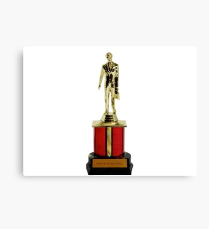 Dunder Mifflin Dundies Awards-Hottest in the office Canvas Print