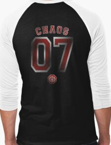 Systematic Chaos 2007 Red Design - Dream Theater Men's Baseball ¾ T-Shirt