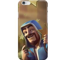 Clash of Clans - Wizard with Stars Art iPhone Case/Skin