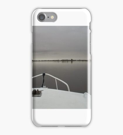 Voyage on Motionless Water iPhone Case/Skin