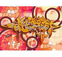 Graffiti ZEST Photographic Print