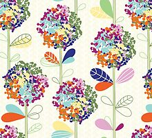 Floral Pattern #47  by tosnos