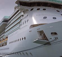 Brilliance of the Seas!  by John  Kapusta