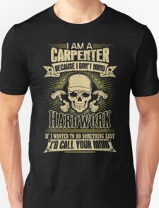 Carpenter T-shirt , carpenter, carpentry, craft, funny, handyman, handymen, hobbies, hobby, humor, i play with saws, occupation, phrases,  T-Shirt