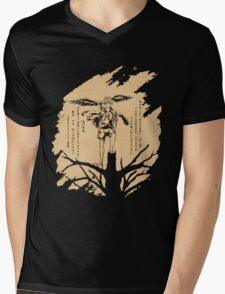 The View from the Top [KANJI] Mens V-Neck T-Shirt