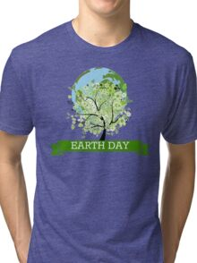 EARTH DAY Tri-blend T-Shirt