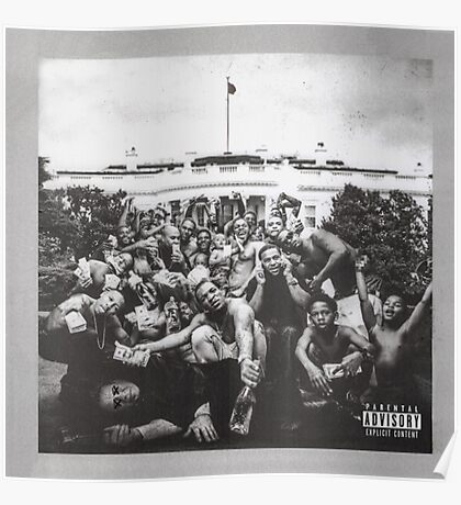 Kendrick Lamar To Pimp A Butterfly  Poster