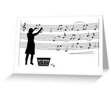 Making more music Greeting Card