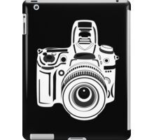 Black and White Camera iPad Case/Skin