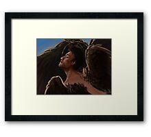 Wild Wings Castiel Framed Print