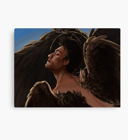 Wild Wings Castiel Canvas Print