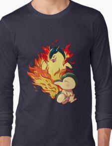 Cyndaquil Typhlosion Long Sleeve T-Shirt