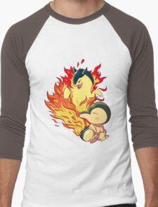 Cyndaquil Typhlosion Men's Baseball ¾ T-Shirt