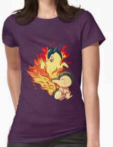 Cyndaquil Typhlosion Womens Fitted T-Shirt