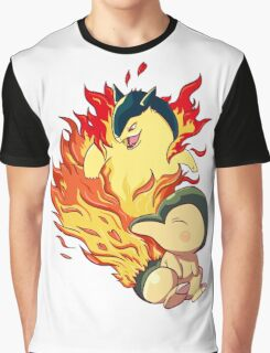 Cyndaquil Typhlosion Graphic T-Shirt