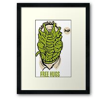 Alien - Free Hugs Framed Print