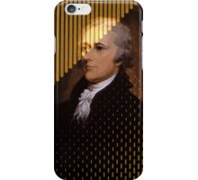 Alexander Hamilton Gold iPhone Case/Skin