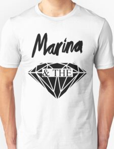 Marina and the Diamonds logo T-Shirt