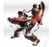 Street Fighter - Ken & Ryu Poster