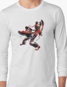 Street Fighter - Ken & Ryu Long Sleeve T-Shirt