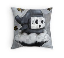 Guy Shyly Throw Pillow