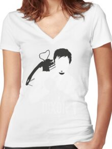 Walking Dead - Daryl Dixon Women's Fitted V-Neck T-Shirt