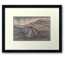 Journey though time End Framed Print
