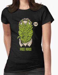 Alien - Free Hugs Womens Fitted T-Shirt