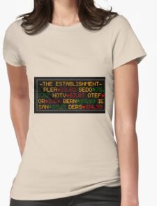 THE ESTABLISHMENT Womens Fitted T-Shirt