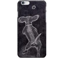 A Dog And Its Ball iPhone Case/Skin