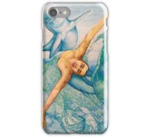 Astrology Zodiac Signs Pisces Drawing iPhone Case/Skin