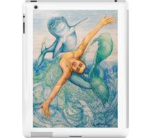 Astrology Zodiac Signs Pisces Drawing iPad Case/Skin