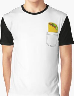Pocket Full of Taco Graphic T-Shirt